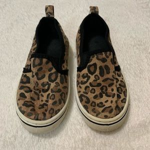 Other - Canvas leopard sneakers